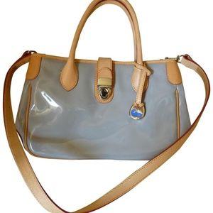 Dooney & Bourke double handle satchel in patent